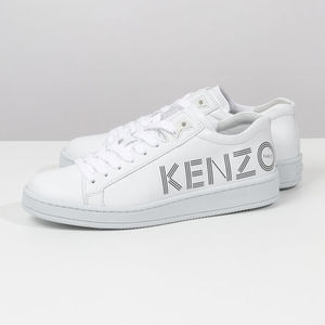 KENZO シューズ 5SN129 L71 01/BLANC TENNIX LOW TOP SNEAKER