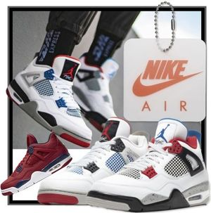 "★送料・関税込★NIKE★AIR JORDAN 4 RETRO ""WHAT THE"" 2色"