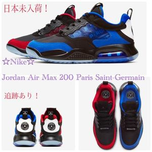 日本未入荷! ☆NIKE☆ Jordan Air Max 200 Paris Saint-Germain