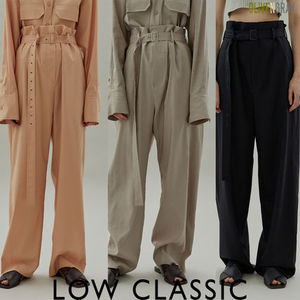 LOW CLASSIC ★ 20SS HIGH WAIST PANTS ★3色★韓国ブランド★