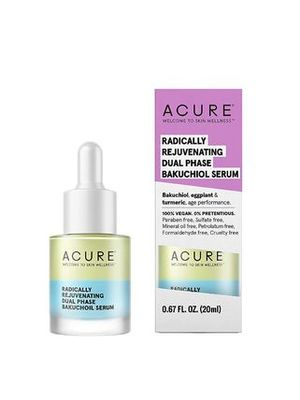ACURE RADICALLY REJUVENATING DUAL PHASE BAKUCHIOL SERUM 20m