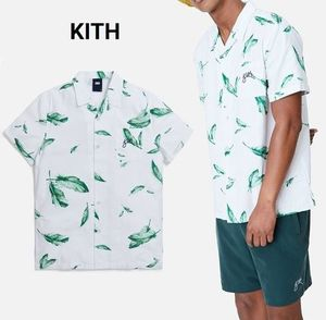 日本未入荷☆KITH☆Camp Collar Seersucker Shirt シャツ
