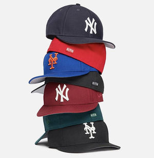 KITH NYC  New Era NY YANKEES & Mets Low Profile Fitteds
