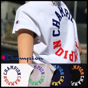 国内発送・正規品★Champion★WOMEN'S SLEEVELESS T-SHIRT
