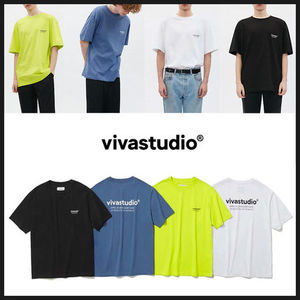 ◆VIVASTUDIO◆ LOCATION SHORT SLEEVE JS (4色) 半袖Tシャッツ