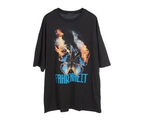 Raucohouse BURNING FLY PRINTING T-SHIRT