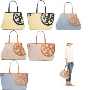 2way☆Tory Burch LONNIE CANVAS MINI TOTE
