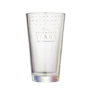 ◆韓国Starbucks x BTS◆ 2020 BTS MD GOLD GLASS 500ml