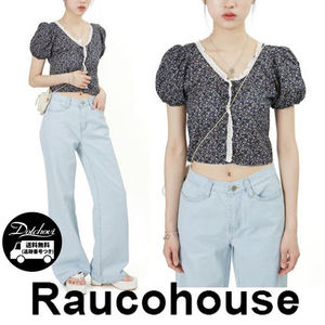 Raucohouse GYPSPPHILA CROPPED BLOUSE JH287 追跡付
