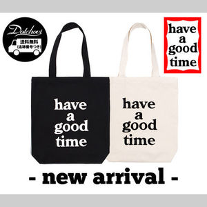 have a good time Logo Tote Bag NE895 / 追跡付