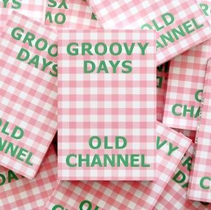 【old channel】GROOVY DAYS DIARY 万年手帳 全11colors