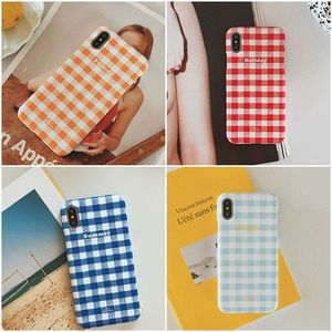 OLD CHANNEL◆GINGHAM CHECK Phone case
