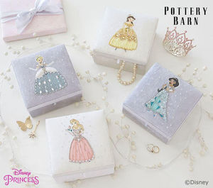 Pottery Barn Disney Princess Jewellery Boxes ジュエリーBOX