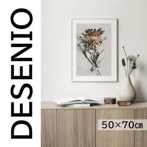 ★DESENIO★DRIED FLOWER POSTER・50×70㎝★花・写真